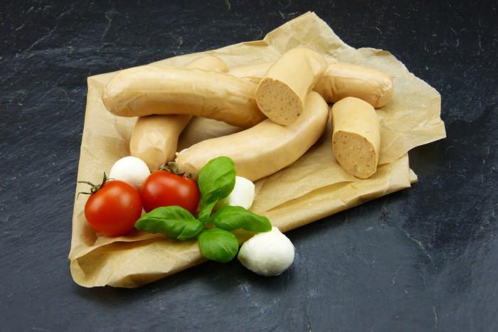 Bratwurst Tomate-Mozzarella