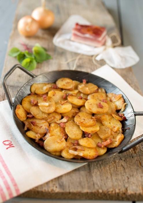 Bratkartoffeln gegart - 1000g Beutel