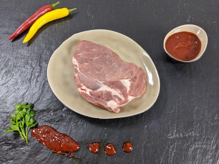 Your Steak - Schweinenackensteak Hot-Spicy