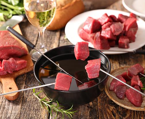 Fleischfondue – Leckeres Essen für geselligen Abend