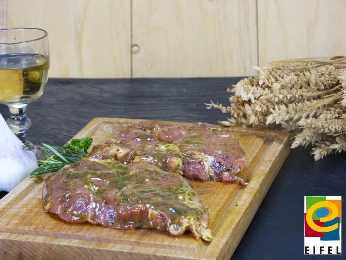 EIFEL Schwein: Kammsteak Kräuter-Knoblauch