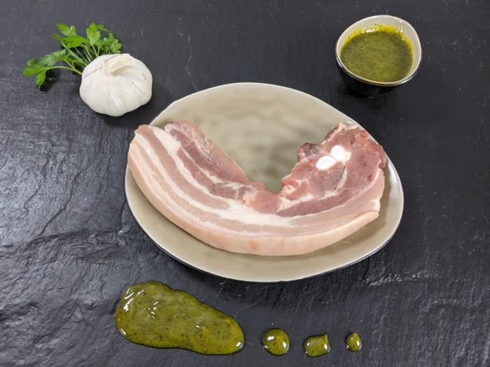 Your Steak - Schweinebauchscheibe Kräuter-Knoblauch