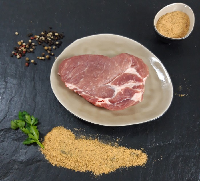 Your Steak - Schweinenackensteak Knusper-Rub