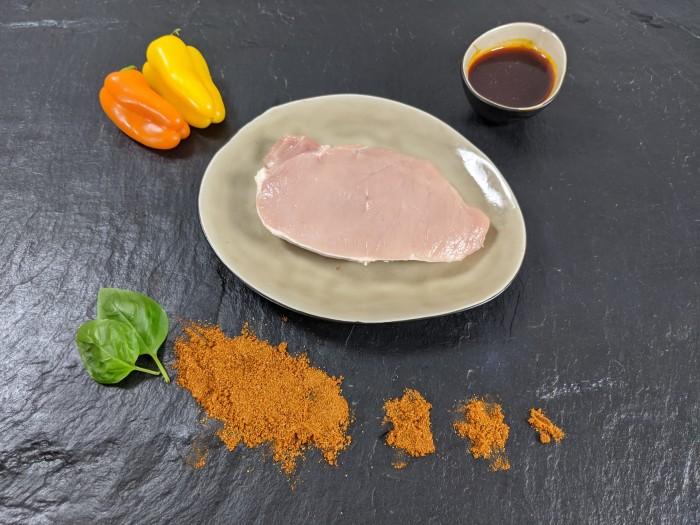 Your Steak - Schweinerückensteak Paprika
