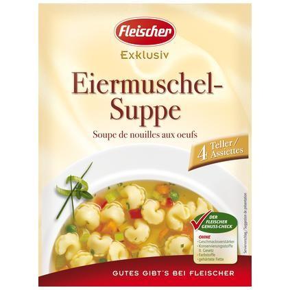 Eiermuschelsuppe Fix