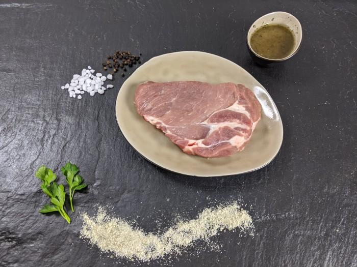 Your Steak - Schweinenackensteak Pfeffer & Salz