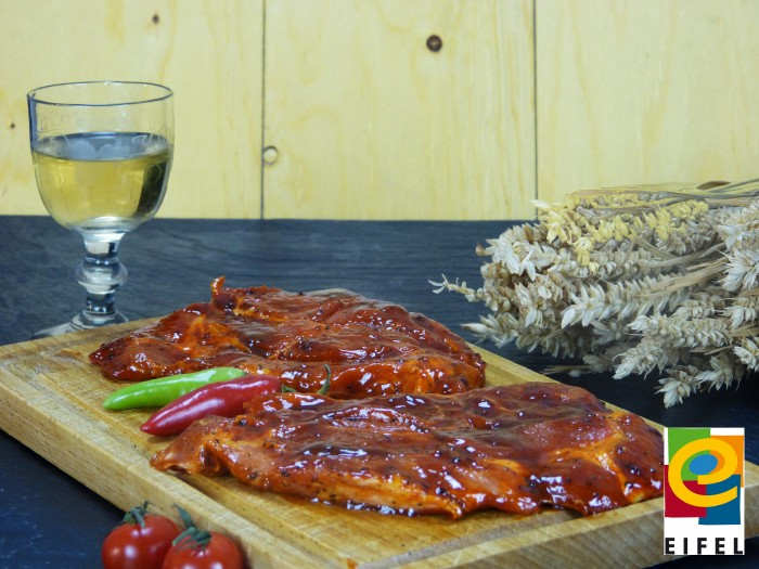 EIFEL Schwein: Kammsteak Barbecue