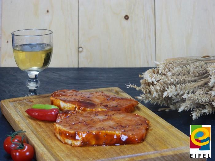 EIFEL Schwein: Rückensteak Barbecue