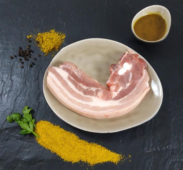 Your Steak - Schweinebauchscheibe Bombay