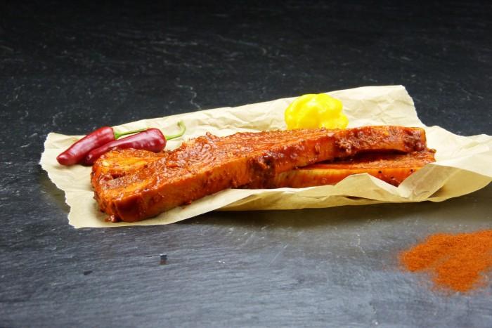 Schweinebauchscheibe Hot+Spicy