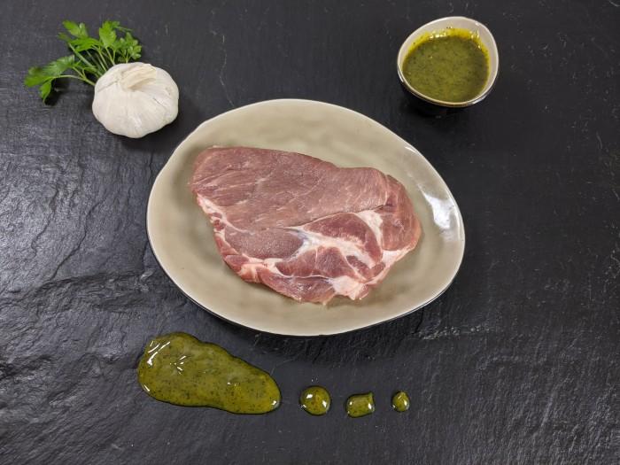 Your Steak - Schweinenackensteak Kräuter-Knoblauch