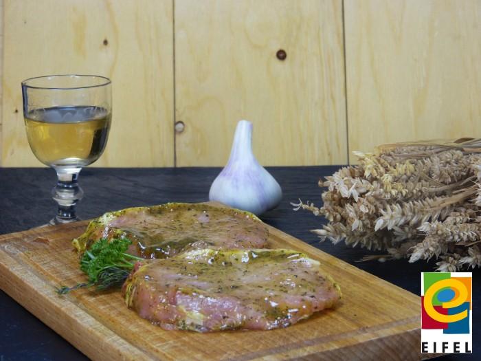 EIFEL Schwein: Rückensteak Kräuter/Knoblauch
