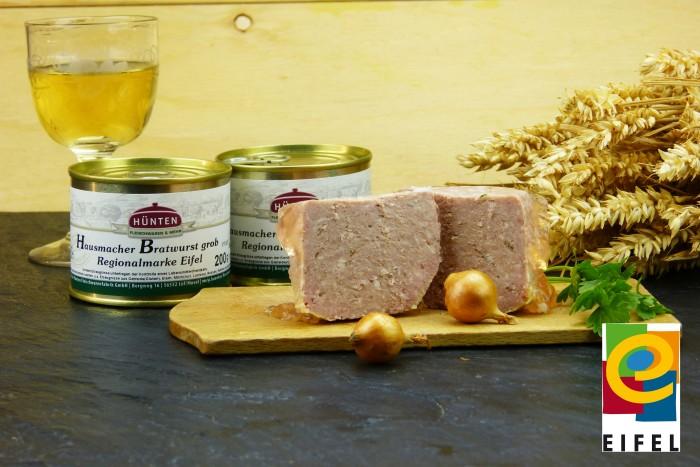 EIFEL Schwein: Hausmacher Bratwurst grob - 200g Dose